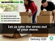Man and Van Service - DeliveryD2D -  442033222142