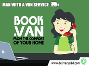 Home and Office Removals - Man with A Van Service