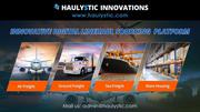 International Logistics,  Courier and Freight Forwarder | Haulystic